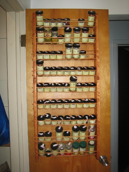 A Miscellany Spice Rack